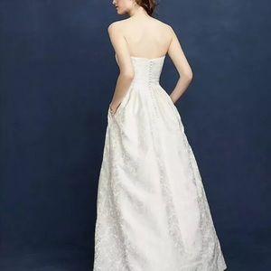 J crew ella wedding dress ball gown 00 F3783 ivory